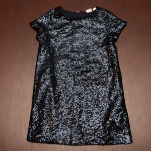 Girls GAP Sequin Dress Size XS